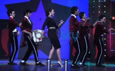 Sonakshi Sinha dancing with MJ 5 on Junior MasterChef Event