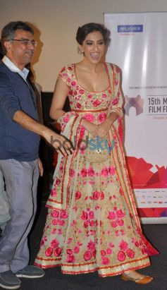 Sonam Kapoor entering event documentary Screening