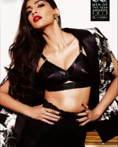 Sonam Kapoor Hot pose At Photoshoot