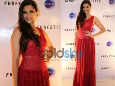 Sonam kapoor in Alaia Dress  At The Le Mill - FarFetch Do