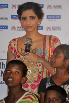 Sonam Kapoor at Khalid Mohammad's documentary Screening