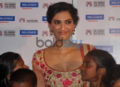 Sonam Kapoor Looking beautiful at documentary Screening