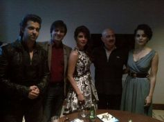 Star Cast of Krrish 3 film promotion at Dubai