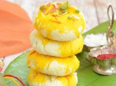 Sumptuous Sweets For Diwali Kesari Sandesh