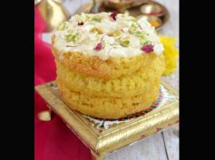 Sumptuous Sweets For Diwali Malai Ghevar