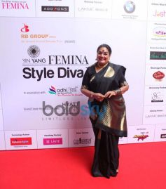 Usha Uthup at the Femina Style Diva Pune at Hyatt Pune