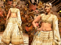 White and Golden Lehenga