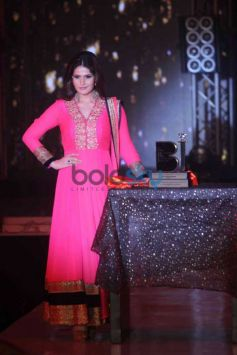 Zarine Khan At Bombay Bullion Associations Jewellery Show and Awards