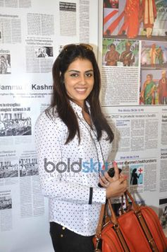 Actress Genelia D'Souza Snapped At Event