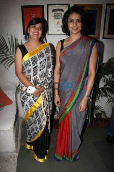 Aditi Mathur Kumar with Gul Panag at Launch