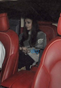 Aishwarya Rai at Sachin Tendulkar  farewell party