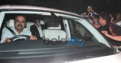 Amitabh Bachchan arrival at Sachin Tendulkar  farewell party