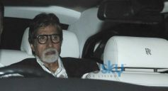 Amitabh Bachchan at Sachin Tendulkar  farewell party