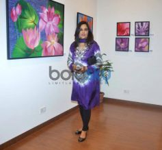 Astrologer Sunita Menon at Bal Disha Painting Exhibition