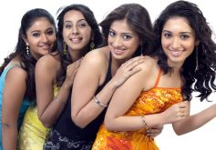 Beautiful Actresses in Saravana Stores ad