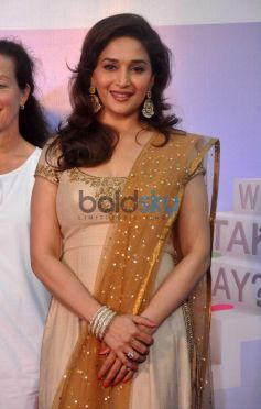 Beautiful Madhuri Dixit at diabetes campaign Event