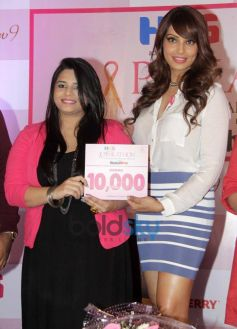 Bipasha Basu during Pinkathon Event