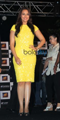 Sonakshi Sinha during Bullet Raja Press Meet