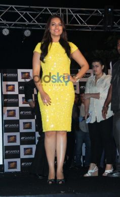 Sonakshi Sinha during Bullet Raja Press Meet
