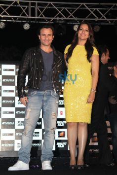 Saif Ali Khan and Sonakshi Sinha at Press Meet