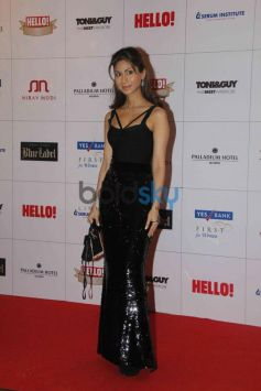 Celebrities at Hello Awards 2013