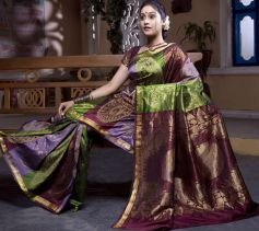 Celebs in Beautiful Saree at Saravana Stores ad