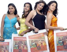 Celebs in Saravana Stores ad PhotoShoot