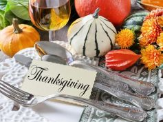 Decorate Home For Thanksgiving Dinner Table Setting