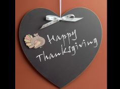 Decorate Home For Thanksgiving Wall Hanging