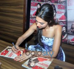 Deepika Padukone autograph on Star Week's Diwali edition