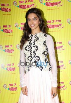 Deepika Padukone at Radio City for Ram Leela Promotion
