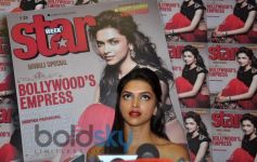 Deepika Padukone speaks to media at Star Week Event