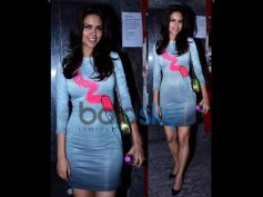 Esha Gupta At GTPM Screening