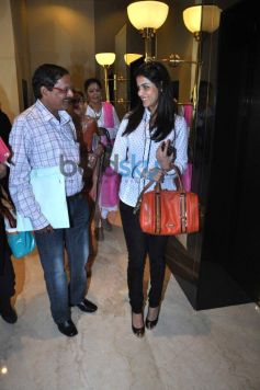 Genelia D'Souza  At Entrance Fogsi Press Meet Event