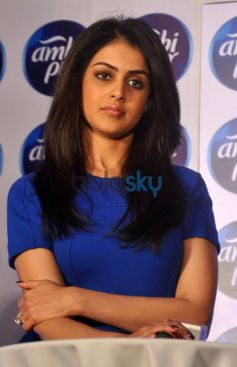 Genelia D'Souza at  launch Refresh your Love campaign