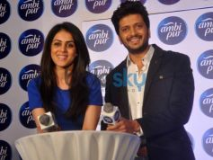 Genelia D'Souza and Riteish Deshmukh launch Refresh your Love campaign
