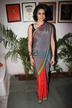 Gul Panag in beautiful red saree at Event