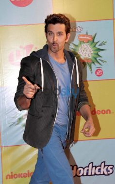 Hritik Roshan at Nickelodeon Kids choice Awards