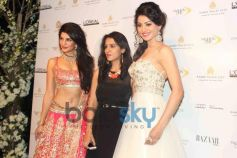 Jacqueline Fernandez with Jyotsna Tiwari at IBFW 2013