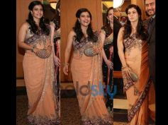 Kajol In Designers Bright Saree Collection