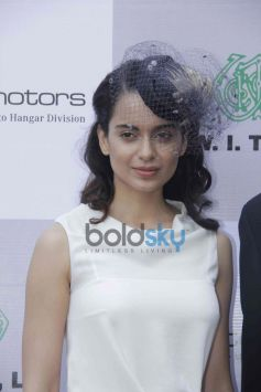 Kangana Ranaut at Metro Motors Auto Hangar Event