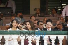 Kangana Ranaut watching race at Metro Motors Auto Hangar Event