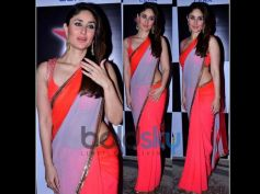 Kareena In Designers saree at Nach Baliye