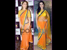 Kareena and Monica Chopra In Designers Saree