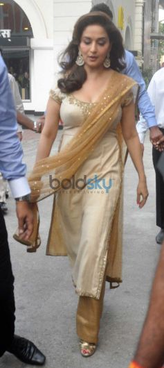 Madhuri Dixit launches at Enterance of Event