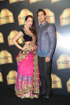 Malaika Arora Khan with Dino Morea at Blenders Pride Fashion Tour