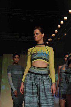 Model ramp walk at Signature International Fashion Week End