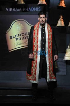 Model walk ramp at Blenders Pride Fashion Tour 2013