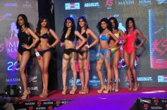 Models walks ramp at Miss Maxim 2014 Grand Finale