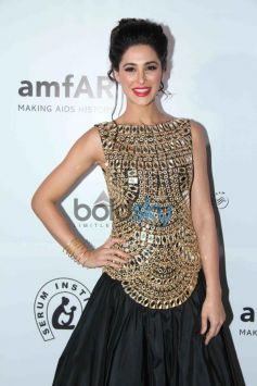 Nargis Fakhri at the amfAR